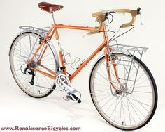 Sam Hillborne touring bike by Renaissance Bicycles, via Flickr