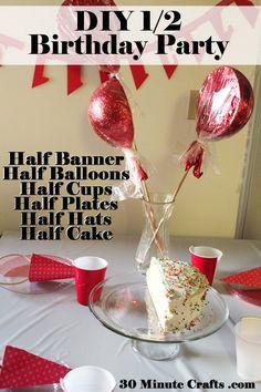 Half Birthday Party