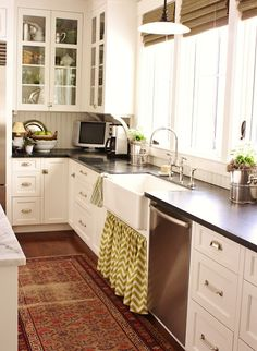 For The Love Of A House Kitchen 1. For The Love Of A House A New Kitchen Skirt Love Everything About This