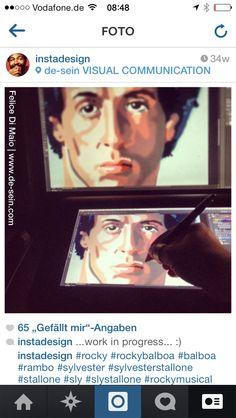 Rocky Balboa - Sylvester Stallone - Digital Portrait - Felice Di Maio   http://www.facebook.com/felicetattoo       #felicedimaio #tattoo #tattoos #sly #rockybalboa #sylvesterstallone #rocky #tattooartist #unna #fröndenberg #absolutebestechung #dortmund #intenze #ink #hustlebutterdeluxe #nrw #tattooed #tattoist #tätowierer #art #design #tattoosoul #tattoosafe #tätowierung #illustration #blackink #tatted #instatattoo #blackandgrey #cheyennehawk