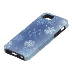 let it snow iPhone 5 covers