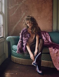 Ondria Hardin for Vogue Russia November 2015 by Mariano Vivanco