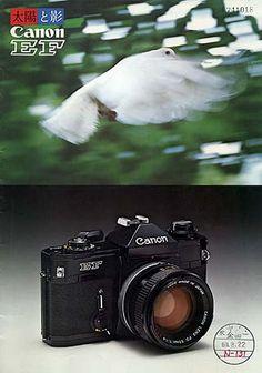 カタログ Camera Gear, Film Camera, Vintage Cameras, Vintage Ads, Classic Camera, Canon Cameras, Canon Ef, Photography Equipment, Leica