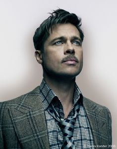 Brad Pitt- Inglourious Basterds (Yes. It is spelled correctly) Tarantino movie..;)