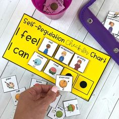 Self-Regulation, Self-Control & Self-Esteem... by Proud to be Primary | Teachers Pay Teachers Emotional Child, Social Emotional Learning, Teaching Emotions, Teaching Kids, Kids Learning, Calm Down Kit, Feelings Chart, Self Regulation, Emotional Regulation