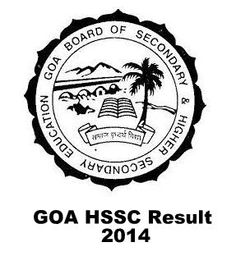 GBSHSE 12th Class Results 2015 Goa Board HSSC (Std. XII