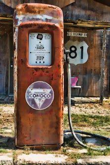 old gas pump, Salado, TX