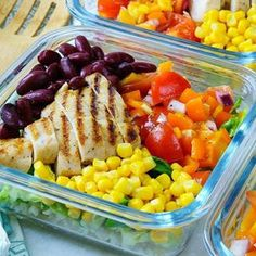 Here's a Meal Prep recipe that will keep you MOTIVATED to Eat Clean! Ingredients: 4 servings 4 Boneless, skinless chicken breasts halves 1⁄4 cup avocado oil, or olive oil 1 Tbsp taco spice mix (try this homemade taco seasoning mix) 2 cups cooked brown rice For the Burrito Salad: 2 bell peppers...