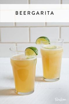 5 Beer Cocktail Recipes You Should Absolutely Be Drinking including a delicious beer margarita! Beer Cocktail Recipes, Beer Recipes, Fun Cocktails, Cocktail Drinks, Drink Recipes, Mexican Cocktails, Margarita Cocktail, Party Drinks, Yummy Recipes