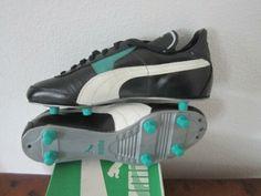 1f812ef26f7d Details about vintage PUMA Club 2000 Fußballschuhe football boots Uk 7.5  unbenutzt WC WM 70er