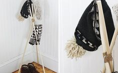 diy hat rack ideas instead of throwing your hats in the corner of the coat closet or losing them to a top shelf in any or every room of the house, build . Baseball Hat Racks, Diy Hat Rack, Coat And Hat Rack, Hat Organization, Shoes Organizer, Hat Holder, Towel Holders, Diy Vanity Mirror, Jewelry Hanger