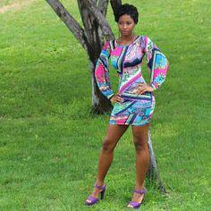 ***Host Pick*** Captivating Slit Sleeve Mini Dress