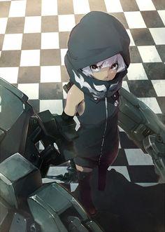 anime - strength(black rock shooter)