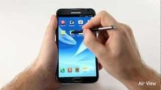 [GALAXY Note II] First Hands-on Video, via YouTube.