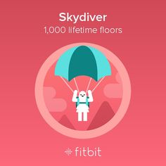 1000 floors in only 9 weeks. #lovemyfitbit