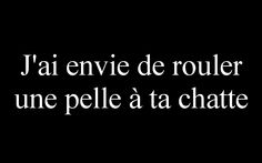 J'ai envie de rouler une pelle à ta chatte Best Quotes, Love Quotes, Funny Quotes, Word Sentences, Naughty Quotes, Quote Citation, Lifestyle Quotes, Small Words, Smart People