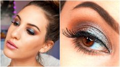 LOVE! Make BROWN EYES POP! ♡ | MAC Blue Brown Pigment