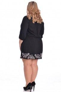 Moda Feminina - Vestido - VK Moda Plus Size