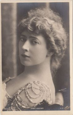 French Actress Jane Hading Real Photo Postcard by Reutlinger Paris RPPC | eBay