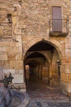 Tarragona, (UNESCO), Civaderia Street, Old district, Catalonia