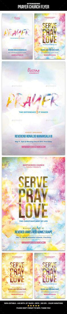 Customize 52+ Church Flyer templates online - Canva