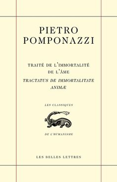 Intellectual - Pietro Pomponnazi's On the Immortality of the Soul