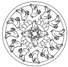 Mandalas bring relaxation and comfort to adults all over the world. Mandalas are one of our favorite things to color. Kids can color them too! We have some more simple mandalas for kids to color. Mandalas for Kids Preschool Coloring Pages, Animal Coloring Pages, Coloring Pages To Print, Coloring Book Pages, Printable Coloring Pages, Coloring Pages For Kids, Free Coloring, Spring Coloring Pages, Mandala Coloring Pages