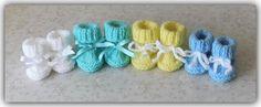 Marianna's Lazy Daisy Days: Lazy Daisy Preemie Baby Booties Baby Cardigan Knitting Pattern Free, Baby Booties Knitting Pattern, Knitted Booties, Easy Knitting, Knitting Patterns Free, Baby Doll Clothes, Crochet Baby Clothes, Baby Dolls, Preemie Babies