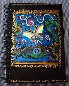 Art Journal Butterfly Feathers by MandarinMoon.deviantart.com on @deviantART