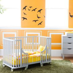 Ahhh, I need this for Caiden! Baby Nursery Furniture, Baby Room Decor, Nursery Room, Nursery Ideas, Bedroom Ideas, Grey Crib, Kids Fever, Yellow Nursery, Baby Planning