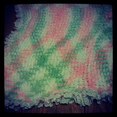 A blanket I made for my grandaughter
