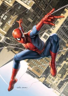 Something Marvel? Bit of both! Amazing Spiderman, Spiderman Art, Spiderman Pictures, Marvel Dc Comics, Marvel Vs, Marvel Heroes, Marvel Universe, Comic Art Fans, Super Anime