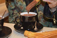 Café Barrio. Churrería
