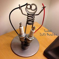 Electrician Metal Art Boogie