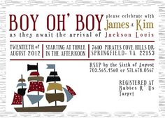 pirate baby shower invitations 7