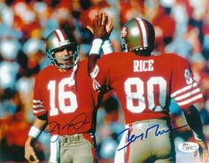 San Fransisco 49ers Legends Joe Montana To Jerry Rice Equals Touchdown!