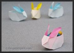 How to Make a Bunny Box Origami