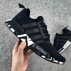 the latest e3148 8abd0 Adidas Nmd R1 Black Nike Shoes, Adidas Shoes, Mens Vans Shoes, Custom Shoes