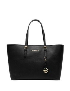 Michael Michael Kors Medium Jet Set Saffiano Multifunction Tote
