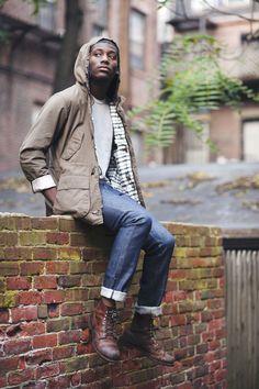 jacket, jeans,  shoes