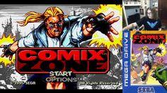 Comix Zone Прохождение [SEGA Classic] ● Stream Edition ● Sega Classic, Retro Games, Youtube, Youtubers, Youtube Movies