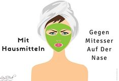 Mitesser auf der Nase mit Hausmitteln entfernen Remove blackheads on the nose with home remedies Blackheads are these smallThis home remedy helps but I look like Blackhead Remedies, Blackhead Remover, Get Rid Of Blackheads, Pimples, Diy Beauty Secrets, Beauty Hacks, Beauty Tips, Skin Care Tips, Cleaning