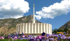 Provo, Utah Temple. We went frequently during our newlywed college days in Provo.