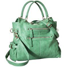 Moda Luxe Satchel Handbag with Removable Strap - Sea Green #targetawesomeshop