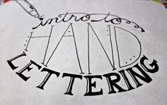 Made by Marzipan: Intro to Hand Lettering - Sakura Of America ... Power To Express