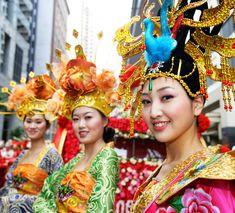 Beautiful Chinese costumes