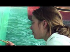 ▶ Painting Waves - Perspective in Whitewash | Over The Shoulder with Mark Waller…