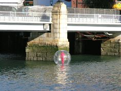 Walking on Water - Lisa Greenfield - 2007 - Fort Point Channel, Boston, MA