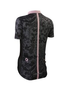 The Botany Black Cycling Jersey by Gregory Klein Women's | Artist-Inspired Cycling Apparel | Pactimo