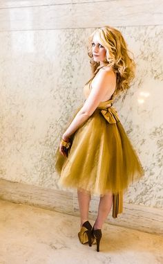NEW 3in1 Tulle Skirt and Infinity Party Dress by MJVOCouture